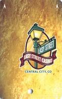 Easy Street Casino Central City CO BLANK Slot Card - Casino Cards