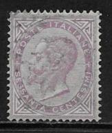 Italy Scott # 32 Used Victor Emmanuel Ll, 1863 - 1861-78 Victor Emmanuel II.