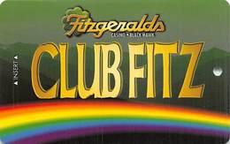 Fitzgerald's Casino Black Hawk, CO - BLANK Slot Card - Fitzgeralds.com Web Address - Casino Cards