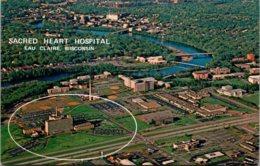 Wisconsin Eau Claire Aerial View Sacred Heart Hospital - Eau Claire