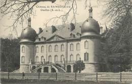 """CPA FRANCE 71 """" Ozolles, Château De Rambuteau"""". - France"""