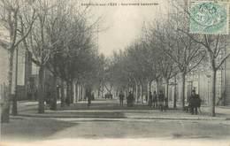 """CPA FRANCE 30 """" Bagnols Sur Cèze, Boulevard Lacourbe"""". - Bagnols-sur-Cèze"""