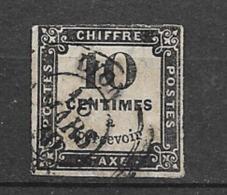 France  Taxe N° 2  Oblitéré B/TB      Soldé  ! ! !  Le Moins Cher Du Site  ! ! ! - 1859-1955 Used