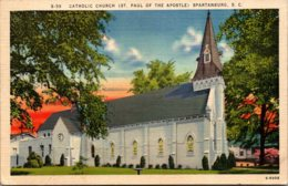 South Carolina Spartanburg St Paul Of The Apostle Catholic Church - Spartanburg