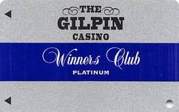 Gilpin Casino Black Hawk CO - BLANK Slot Card - Winners Club Platinum - Casino Cards