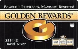 Golden Casino Group Black Hawk, CO - Golden Gates, Golden Mardi Gras, Golden Gulch Slot Card - Casino Cards