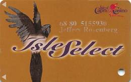 Isle Of Capri Casinos - Higher Level Isle Select Slot Card With 12/31/00 Expiration Date On Back - Casino Cards