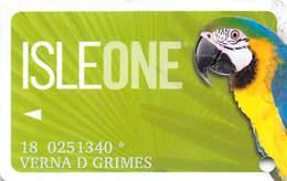 Isle Of Capri Casino Multi-Locations - IsleOne Player Slot Card @2012 - Casino Cards