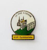 Pin's Cyclisme ESP Cyclotourisme Piré Sur Seiche Ille Et Vilaine BRETAGNE - Villes