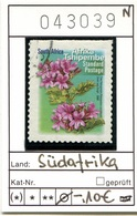 Südafrika - South Africa - Michel ?   - Oo Oblit. Used Gebruikt - Blumen - Flowers - Fleurs - Bloemen - Afrique Du Sud (1961-...)