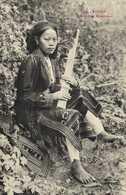 TONKIN  Femme Man Misicienne  RV - Viêt-Nam