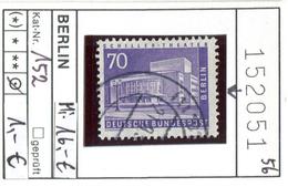 Berlin - Germany - Michel 152  -  Oo Oblit. Used Gebruikt - Michel 16,00 Euro - [5] Berlino