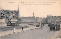 ROUEN  Pont Et Statue Corneille  24 (scan Recto-verso)MA2297Bis - Rouen