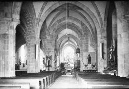 PN - 79-375 Et 375 Bis -  DEUX SEVRES - ARGENTON CHATEAU - Eglise Intérieur Et Façade - Diapositivas De Vidrio