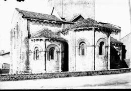 PN 376 - DEUX SEVRES - MELLE - Eglise Saint Pierre - Diapositivas De Vidrio