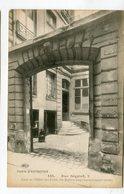 CPA  75  : PARIS Autrefois : Rue Séguier  VOIR  DESCRIPTIF  §§§ - Sonstige