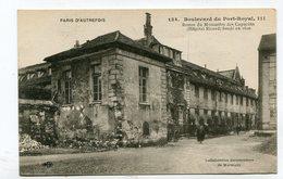 CPA  75  : PARIS Autrefois : Bd Du Port Royal   VOIR  DESCRIPTIF  §§§ - Sonstige