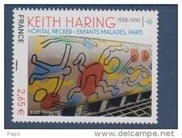 2014-N°4901** KEITH HARING - Francia