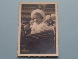 KONINGSHUIS België >>> Te Identificeren > Photo Jos MASSON Gand > 13/4/1938 ( Form. 6 X 8,5 Cm.) ! - Beroemde Personen