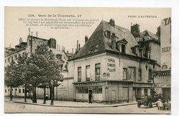 CPA  75  : PARIS Autrefois : Quai De La Tournelle  VOIR  DESCRIPTIF  §§§ - Sonstige