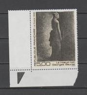 "FRANCE / 1991 / Y&T N° 2693 ** : ""Le Nœud Noir"" (Georges Seurat) X 1 CdF Inf G Avec Triangle - France"