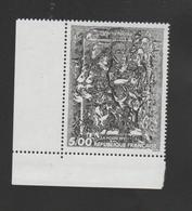 "FRANCE / 1991 / Y&T N° 2730 ** : ""Volta Faccia"" (François Rouan) X 1 CdF Inf G - Unused Stamps"