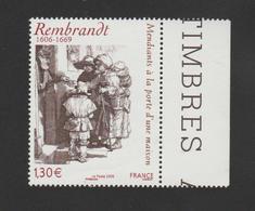 """FRANCE / 2006 / Y&T N° 3984 ** : """"Mendiants à La Porte D'une Maison"""" (Rembrandt) X 1 BdF D - France"""