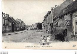 58 . Nièvre : Corbigny :  Rue De La Gare . - Corbigny