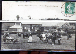 CLAIRFONTAINE FERME MOGUET ATTELAGE DE CHIEN - Francia