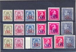 Nrs. S26/S31 (3x) Postgaaf ** Zeer Mooi MNH - Dienstpost