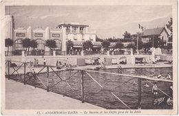 33. ANDERNOS-LES-BAINS. Le Bassin Et Les Cafés Pris De La Jetée. 13 - Andernos-les-Bains