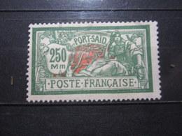 VEND BEAU TIMBRE DE PORT - SAID N° 85 , (X) !!! - Port-Saïd (1899-1931)