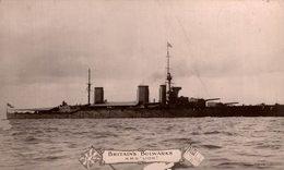 RPPC Kriegsschiff, Warship H.M.S  LION BRITAIN'S BULWARKS - Guerra