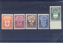 Nrs. 756/760 Postgaaf ** MNH Zeer Mooi - Belgium