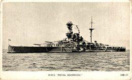 HMS - ROYAL SOVEREIGN - Marine Anglaise  - British Battleship  Kriegsschiff, Warship - Guerra