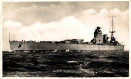 HMS - RODNEY  - Marine Anglaise  - British Battleship  Kriegsschiff, Warship - Guerra
