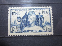 VEND BEAU TIMBRE DE MARTINIQUE N° 166 , X !!! - Martinique (1886-1947)