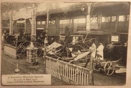 Waremme - Stand DOYEN ET FILS - 4e Exposition Mécanique Agricole Du 9 Au 18 Mars 1912 - Circulé: 1914 - 2 Scans. - Waremme