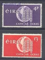 Ireland 1963 Mi 157-158 MNH ( ZE3 IRL157-158 ) - Against Starve
