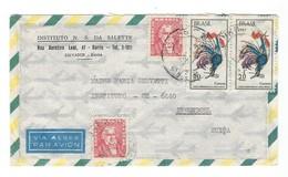 COVER CORREO BRASIL -VIA AEREA - BAHIA - INGENBOHL - SUISSE. - Brazilië