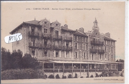 CARNAC- ANCIEN GRAND-HOTEL- ACTUELLEMENT CLINIQUE KERMARIA- 1924- - Carnac