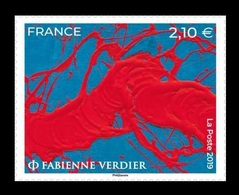 France 2019 Mih. 7500 Modern Art. Painting Of Fabienne Verdier MNH ** - France
