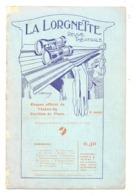 """Revue Théâtrale """" La Lorgnette """" Du Théâtre Du Pavillon De Flore +/- 1920 - Programme - LIEGE  (b270) - Boeken, Tijdschriften, Stripverhalen"""