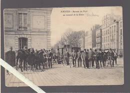 Nantes / Le Bureau Du Port Au Moment De La Greve Des Dockers 1907, Coll Meyer, Militaires Wagon - Nantes
