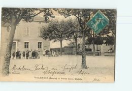 VALENCIN - Place De La MAIRIE Avec Beau Plan Animé - 2 Scans - Altri Comuni
