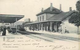 CPA 55 Meuse St Saint Mihiel La Gare Intérieure Voies Quais Picon - Saint Mihiel