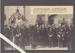 Nantes / Aristide Briand, Blancho Maire Saint Nazaire, Dans Cour Du Chateau Des Ducs, Cérémonie Naufrage St-philibert - Nantes