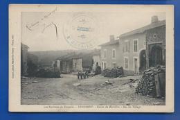 REHERREY     Route De Merviller   Bas Du Village   écrite En 1916 - Francia