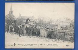 MAIX      24 Décembre 1914     Animées  écrite En 1916 - Francia