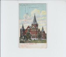 OKLAHOMA - MUSKOGEE  CHURCH TO BELGIUM - BXL FOREST - 1907 - Muskogee